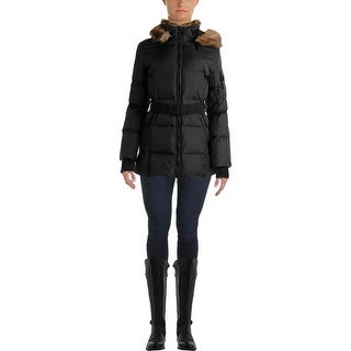S13/NYC Womens Down Faux Fur Parka - M