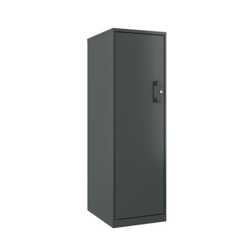 Space Solutions 4 Shelf Personal Locker, Charcoal - 52.630 X 18.380 X 21.750