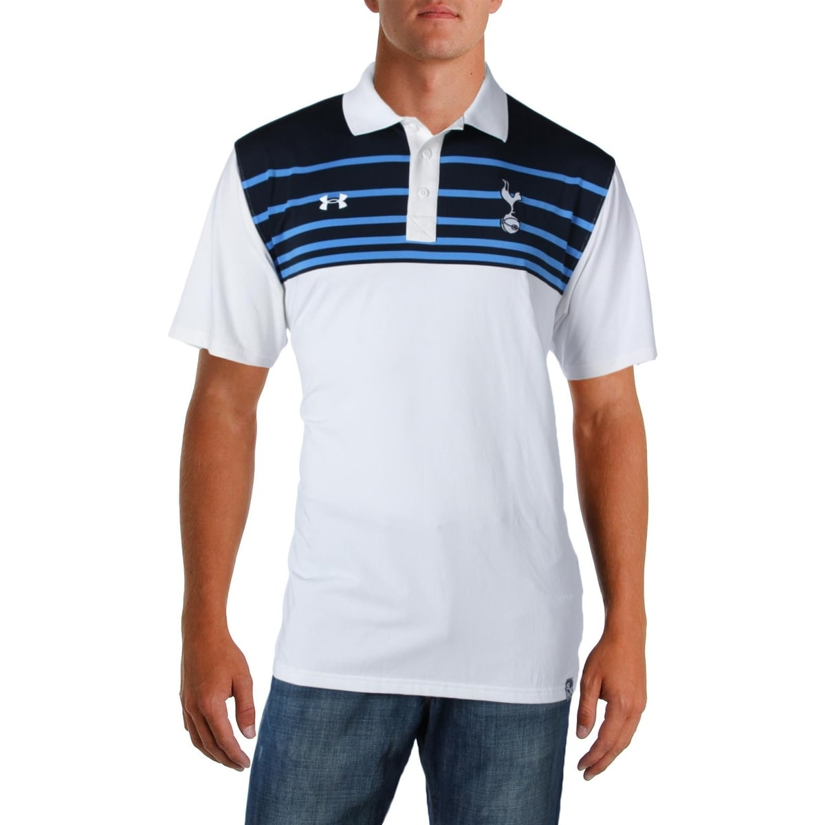 Under Armour Mens Heat Gear Golf Loose Fit Polo Shirts