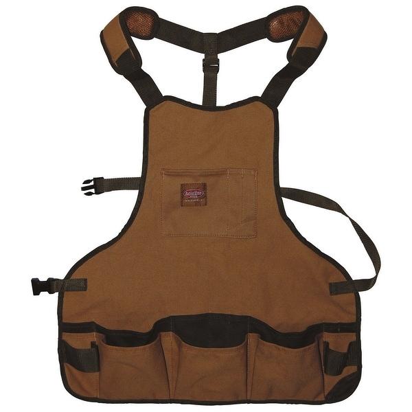 "Bucket Boss 80200 Duckwear Superbib Apron, 23"" W x 23.5"" H"