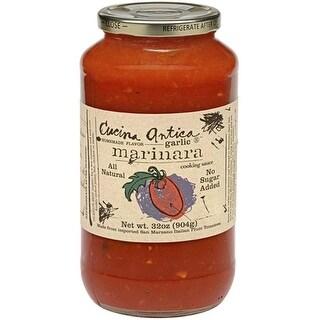 Cucina Antica Foods - Garlic Marinara Sauce ( 12 - 32 oz jars)