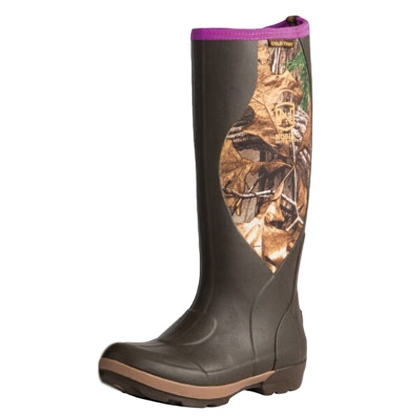 Noble Outfitters Outdoor Boots Womens Cold Front Muck Muds Brown