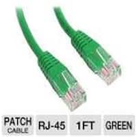 M45PATCH1GN Molded Cat 5E Utp Patch Cable Patch Cable, Green