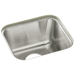 "Sterling UCL1515 SpringDale 14-1/4"" Single Basin Undermount Stainless Steel Bar Sink with SilentShield"