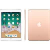 """Apple 9.7"""" iPad Early 2018, 32GB, Wi-Fi + 4G LTE, iPad MRM52LL/A Gold"""