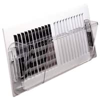 "Deflect-O 51 Wall Register Air Deflector, 10""-16"""