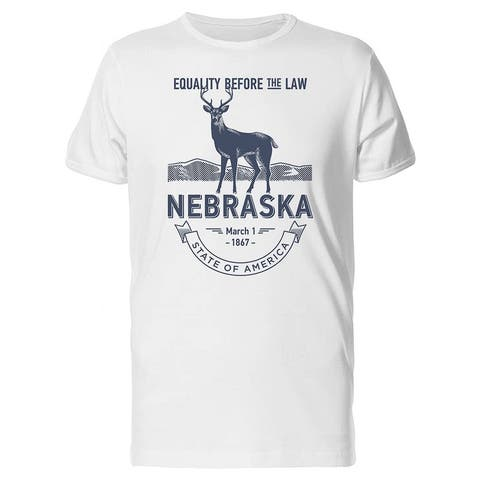 Equality Before The Law Nebraska Tee Men's -Image by Shutterstock