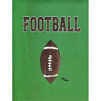 Carolines Treasures 8487GF 11 x 15 in. Football Flag Garden Size