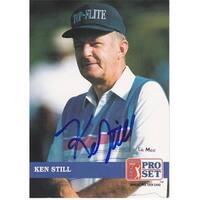 Ken Still Autographed Pro Set Golf Trading Card