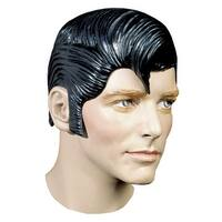 Flash Rubber Costume Wig - Black