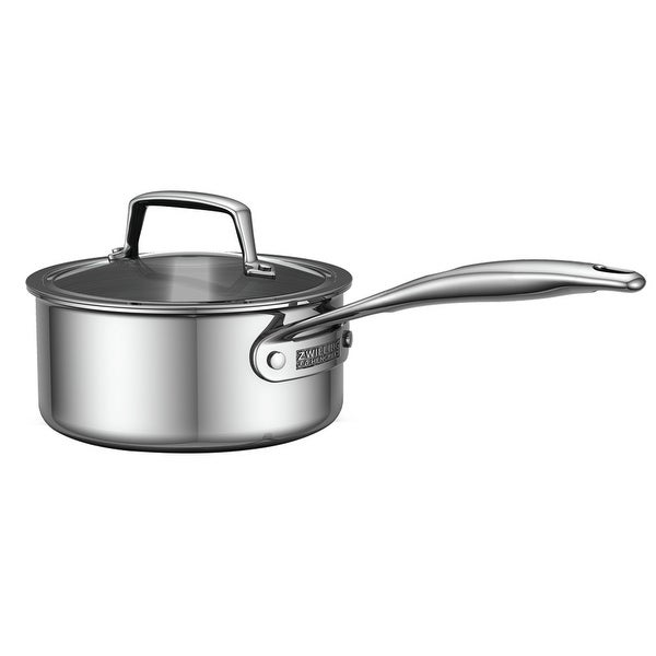 Shop Zwilling Energy 3 Ply 2 Qt Stainless Steel Saucepan W