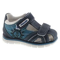 Primigi Boys 13631 Leather Protective Closed Toe Fashion Sandals - Blue