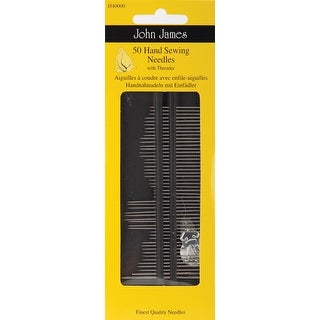 Hand Needle Set-Assorted 50/Pkg - assorted 50/pkg