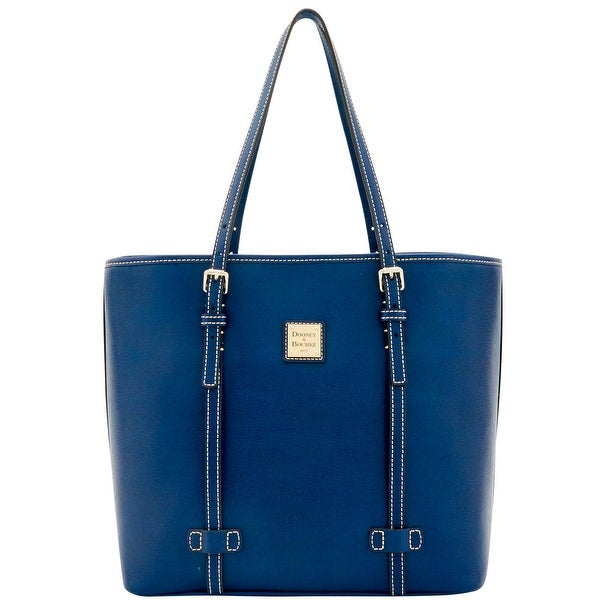 Dooney & Bourke Saffiano East West Shopper (Introduced by Dooney & Bourke at $268 in Sep 2016) - Marine