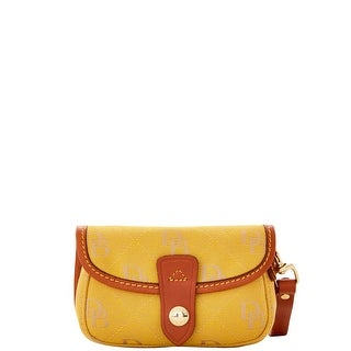 Dooney & Bourke Maxi Quilt Flap Wristlet (Introduced by Dooney & Bourke at $58 in Apr 2016) - Marigold