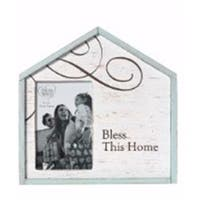 Precious Moments  Bless This Home Photo Frame - Holds 4 x 6 in. Photo