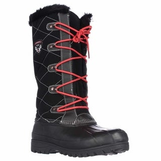Sporto Connie Tall Water Resistant Winter Boots - Black