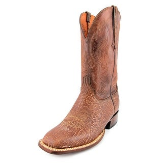 Lucchese Miller Square Toe Leather Western Boot