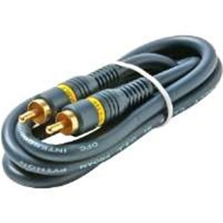 Steren 254-110BL 3 Ft. Python Home Theater Rca Video Cable