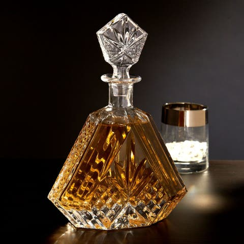 Dublin Triangular Crystal Decanter