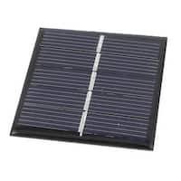 2.5V 0.42W DIY Polycrystallinesilicon Solar Panel Cell Battery Charger 54mmx54mm