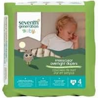 Baby Overnight Diapers Stage 4  -4x24ct