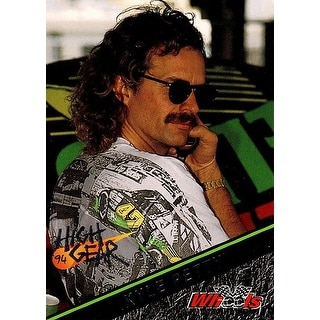 Signed Petty Kyle Kyle Petty 1994 Wheels Racing High Gear Promo Card autographed
