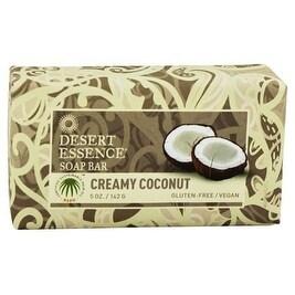 Desert Essence Bar Soap Creamy Coconut 5-ounce