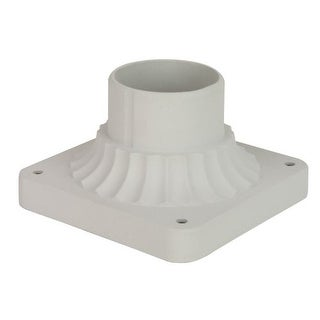 """Craftmade Z200 5.88"""" Wide Square Post / Pier Mount