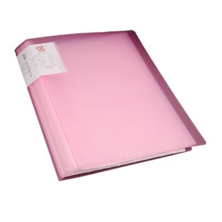 Office Paper Organizer Size A4 Book File Sheet Protector Pink
