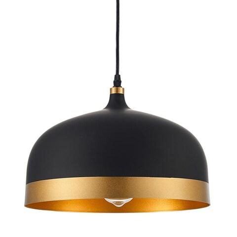 Ohr Lighting Lisse Saturn Pendant Black Gold