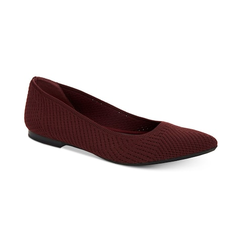 Alfani Womens Poppyy Pointed Toe Slide Flats
