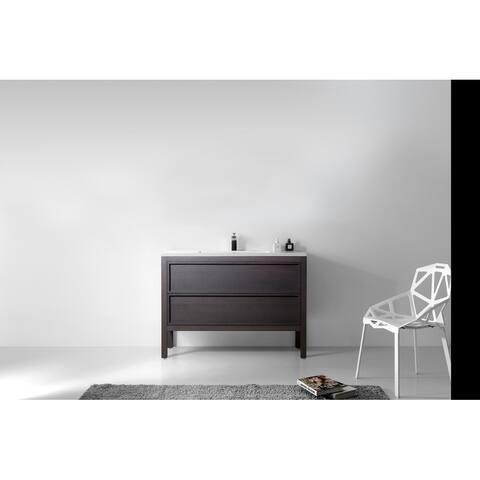 """ANNECY 48"""" Freestanding Modern Bathroom Vanity Set"""
