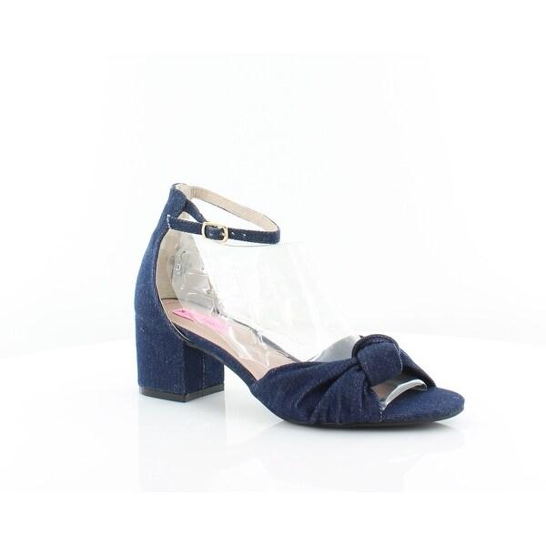 Betsey Johnson Ivee Women's Heels Demin Fab - 8.5