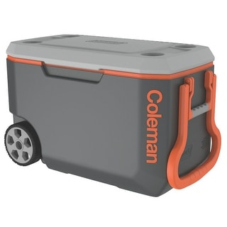 Coleman Cooler 62qt Gray-Orange-Gray Omld Cooler 62qt