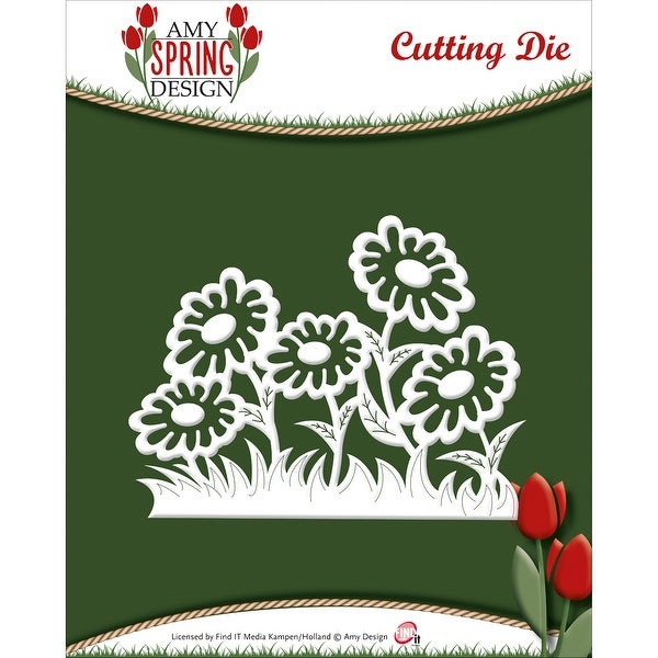 Find It Trading Amy Design Spring Die-Daisies