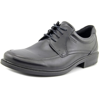 Ecco Donald Men Round Toe Leather Black Oxford