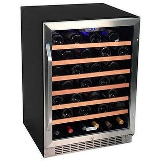 EdgeStar CWR531SZ 24 Inch Wide 53 Bottle Built-In Wine Cooler