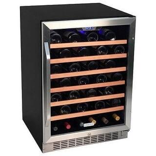 EdgeStar CWR531SZ 24 Inch Wide 53 Bottle Built-In Wine Cooler|https://ak1.ostkcdn.com/images/products/is/images/direct/6c55bbdd429128e93baf7ab5b65fdebb89205104/EdgeStar-CWR531SZ-24-Inch-Wide-53-Bottle-Built-In-Wine-Cooler.jpg?impolicy=medium