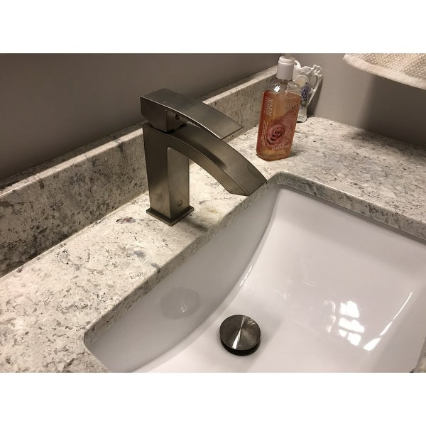 Vigo Brushed Nickel Bathroom Sink Pop Up Drain With Overflow Free Shipping On Orders Over 45 8448047