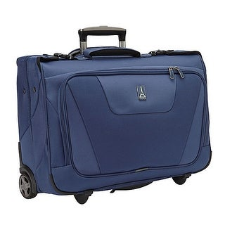 Maxlite 4-Rolling Carry-on Garment Bag-Blue Rolling Carry-on Garment Bag