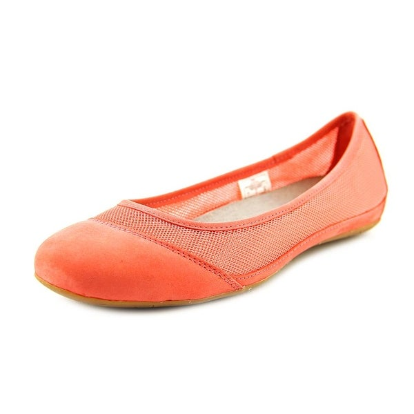 Patagonia Maha Breathe Women Round Toe Synthetic Pink Flats