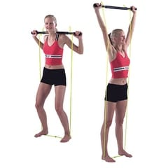Cando Exercise Bar and Tubing Combo