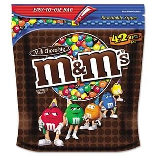 M M`S. 32438 Milk Chocolate w/Candy Coating 42 oz Bag