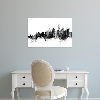 Easy Art Prints Michael Tompsett's 'Santorini Skyline' Premium Canvas Art