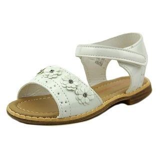 Laura Ashley Floral Sandal Toddler Open Toe Synthetic White Sandals