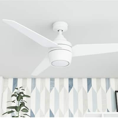 Honeywell Eamon White 52-inch LED Ceiling Fan with Remote Control