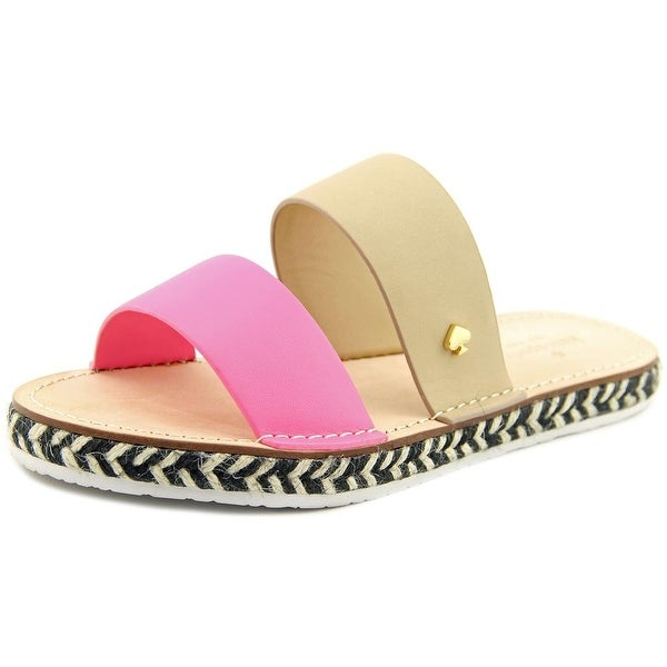 Kate Spade Idreena Open Toe Synthetic Slides Sandal