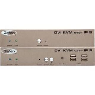 Gefen Ext-Dvikvm-Lan-Lrx Dvi Kvm Over Ip W/ Local Dvi Output Receiver Unit Only