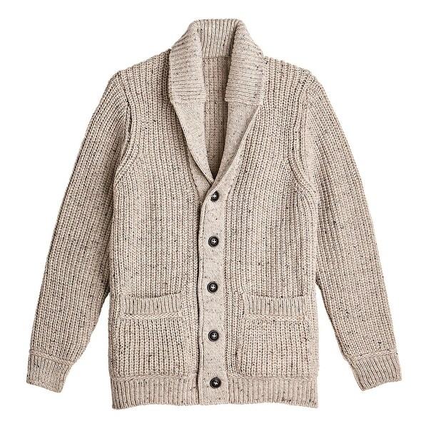 Shop West End Knitwear Men's Merino Wool Sweater Ribbed